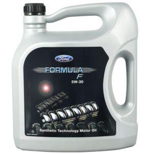 Моторное масло FORD 155D3A Formula F 5W30 (5L) A5/B5