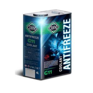 AWM G11 Ready Mix Зеленый антифриз 4л