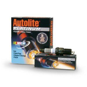 """Свечи зажигания """"Autolite"""" (компл. 4 шт) платина 16кл.инж. ГАЗ 405"""